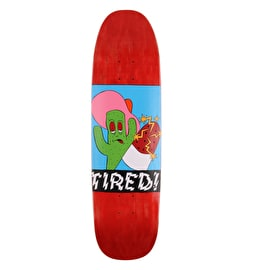 Tired Cactus Popsicle Skateboard Deck - 8.625