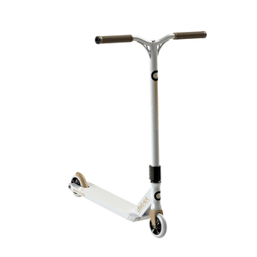 District C-Series C152 Complete Scooter - White/Gold