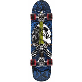 Powell Peralta Mini Skull & Sword Complete Cruiser Skateboard - 8.0