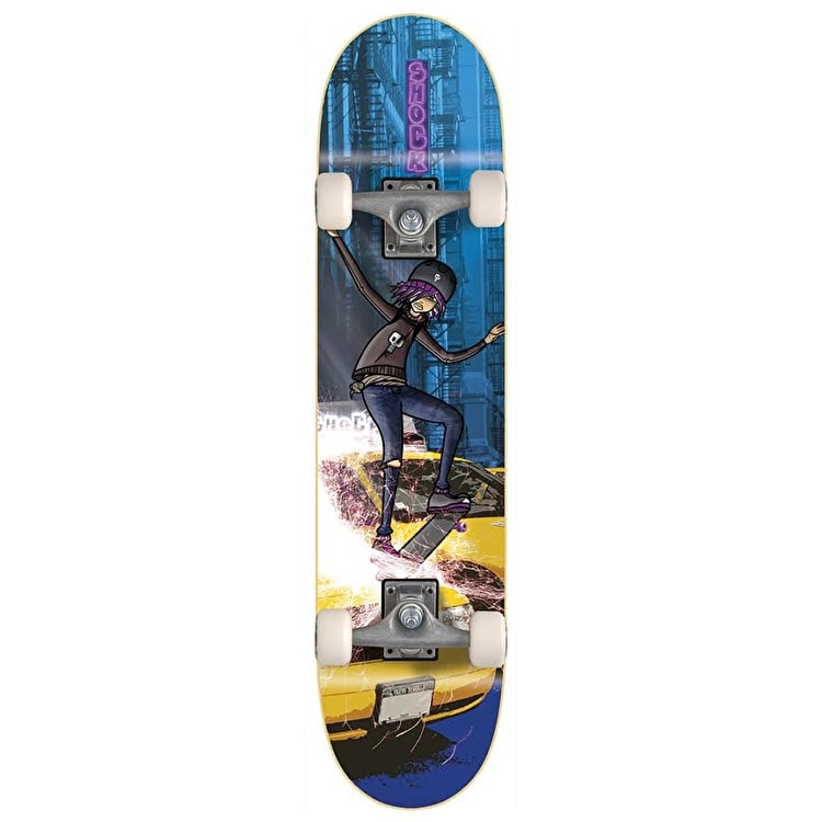 Voltage Shock Complete Mini Skateboard - Grind