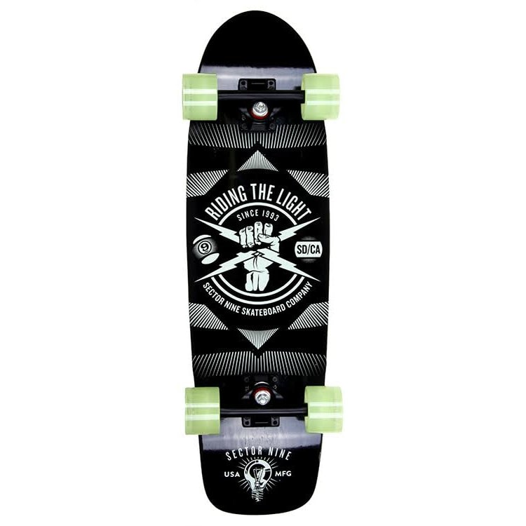 "B-Stock Sector 9 Lumithane Firebolt 30"" Complete Cruiser (Cosmetic Damage)"
