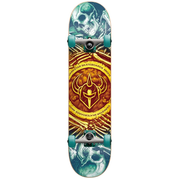 Darkstar Remains Complete Skateboard - Gold Fade 7.75""