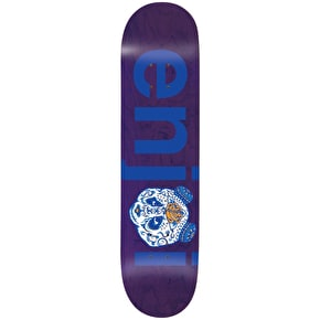 Enjoi No Brainer Quinceanera R7 Skateboard Deck - Purple 7.75