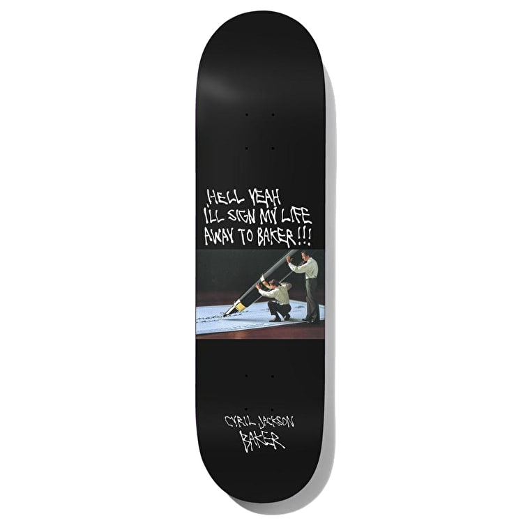 Baker Super Stock - Cyril Skateboard Deck 8.25""