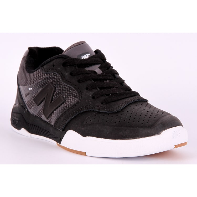 New Balance 868 Skate Shoes - Black/Black/White