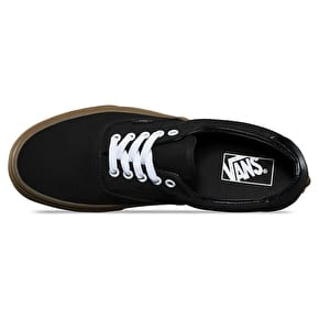 Vans Era 59 Skate Shoes - (Canvas Gum) Black/Light Gum