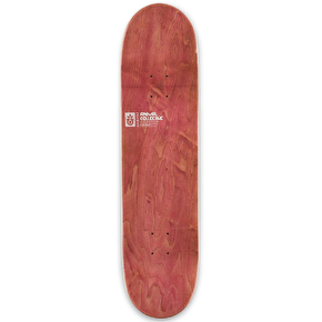 Habitat X Animal Collective Skateboard Deck - Red - 8.25