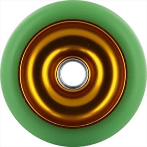 Eagle Gold core Green Pu Metal Core wheel - 100mm