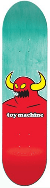 Toy Machine Monster Skateboard Deck  7.75