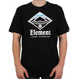 Element Layer T Shirt - Flint Black