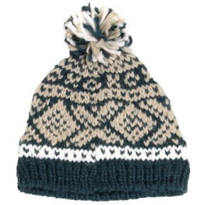Barts Log Cabin Beanie - Green