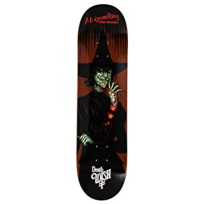 Deathwish Nightmare In Emerald Skateboard Deck - Lizard King 8