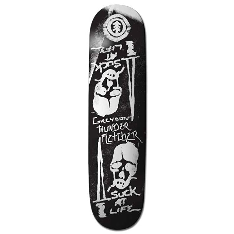 Element Suck@Life Skateboard Deck - Greyson 8.5""