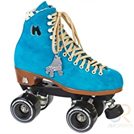 Moxi Lolly Pool Blue Quad Roller Skates