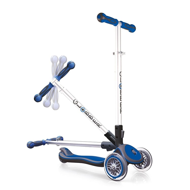 Globber My Free Elite Complete Scooter - Dark Blue