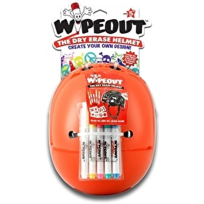 Triple 8 Kids Wipeout Helmet - Neon Orange
