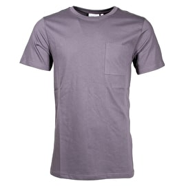 WeSC Banji T shirt - Plum Grey