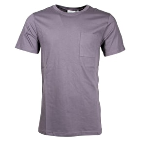 WeSC Banji T-Shirt - Plum Grey