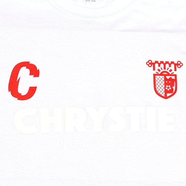 Chrystie X CSC T-Shirt - White/Red