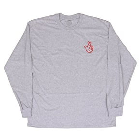 National Skateboard Co Winning Longsleeve T-Shirt - Grey