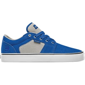 Etnies Barge LS Skate Shoes - Blue/Tan