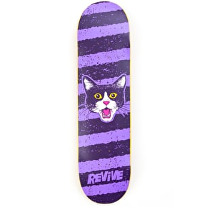 ReVive Purple Cat Skateboard Deck
