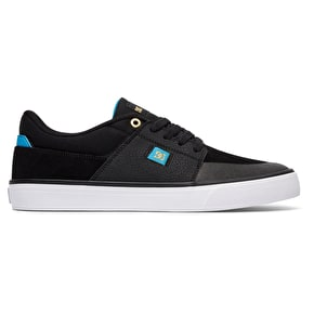 DC Wes Kremer Skate Shoes - Black/Blue/White