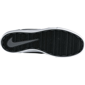 Nike SB Portmore II Solar Skate Shoes - Black/Dark Grey/White