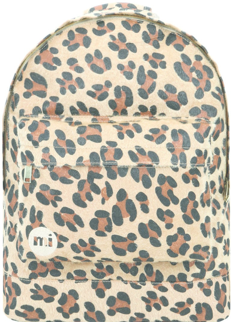 MiPac Leopard Pony Backpack  Tan