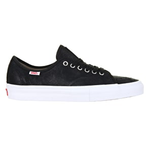 Vans AV Classic Shoes - (Oiled Suede) Black/White