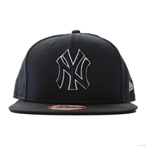 New Era 9Fifty NY Outline Mesh Cap - Navy