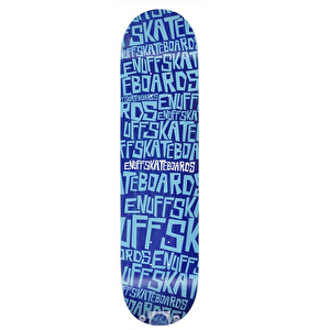 Enuff Scramble Skateboard Deck - Blue