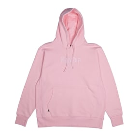 RIPNDIP Logo Embroided Hoodie - Pink