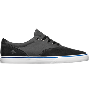 Emerica x Toy Machine Provost Slim Vulc Shoes - Black/Grey