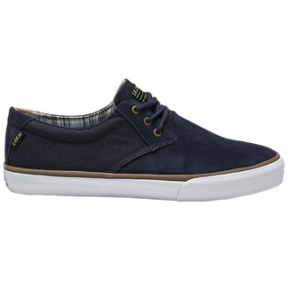 Lakai Daly Skate Shoes - Navy Suede