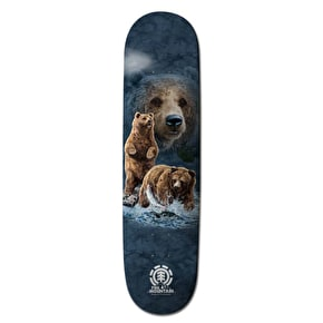Element Bear Logo Skateboard Deck 7.625