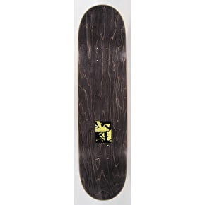 National Skateboard Co Gregoire Cuadrado X Catalogue Skateboard Deck - Yellow - 8.25