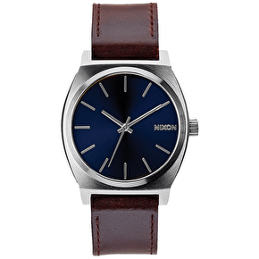 Nixon Time Teller Watch - Blue/Brown