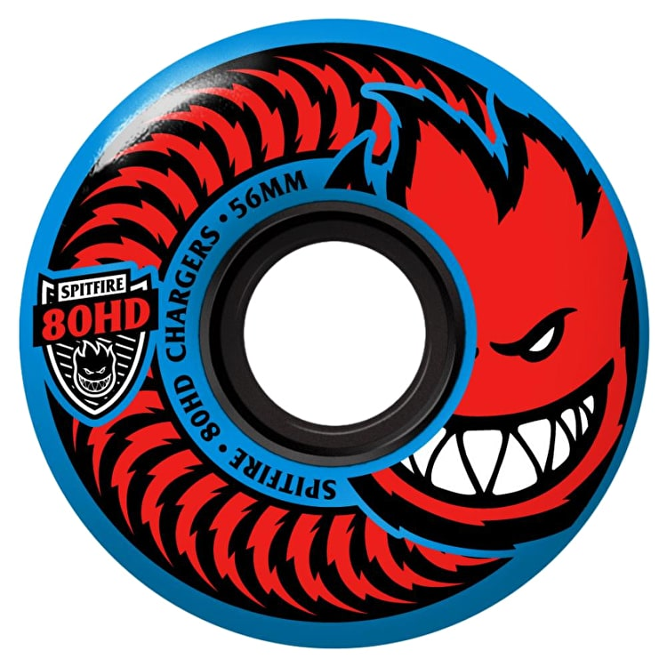 Spitfire Charger Classic 80HD Skateboard Wheels (Pack of 4)