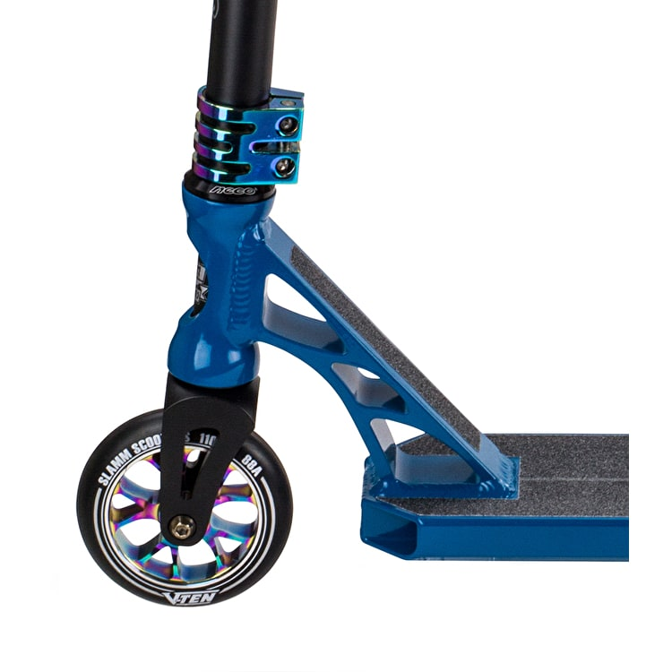 Slamm Assault III Complete Scooter - Blue