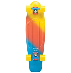Penny Fades Nickel Complete Skateboard - Yellow/Red/Blue 27