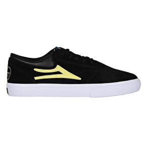 Lakai Griffin Skate Shoes - Black/Yellow Suede