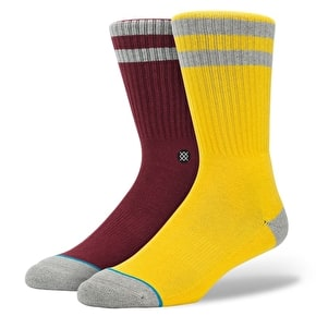 Stance Crosby Socks - Yellow