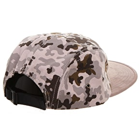 WeSC Flecktarn 5 Panel Cap - White Pepper