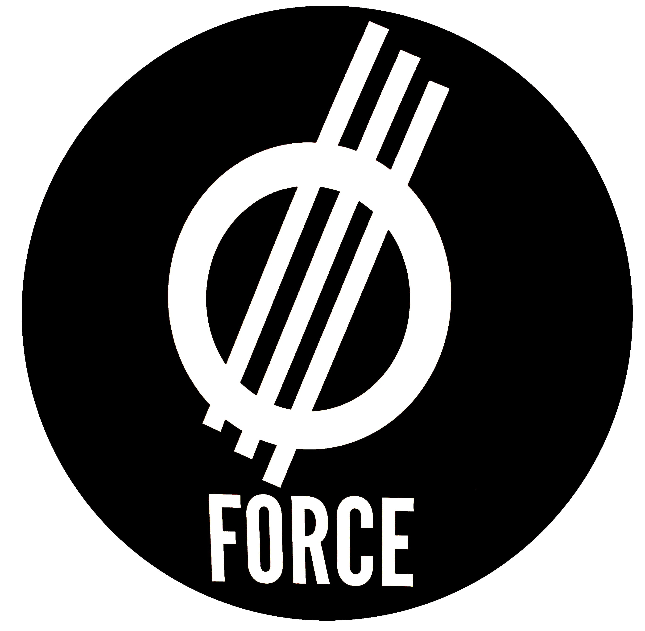 Force Wheels Skateboard Sticker - Black | Force Wheels | Force Skateboard  Wheels | Skate Shop | Skatehut