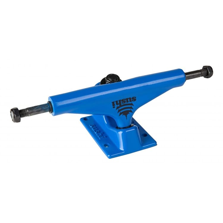 Sushi Pagoda Skateboard Trucks - Blue 5.25""