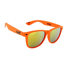 Neff Daily Sunglasses - Soft Touch Orange