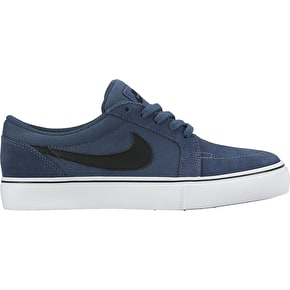 Nike SB Satire II Kids Skate Shoes - Squadron Blue/Black