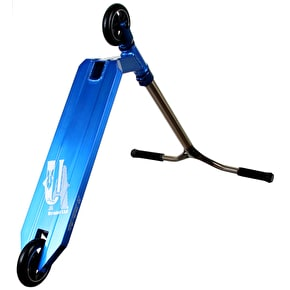 UrbanArtt Custom Scooter - Oversized Blue/Trans Orange
