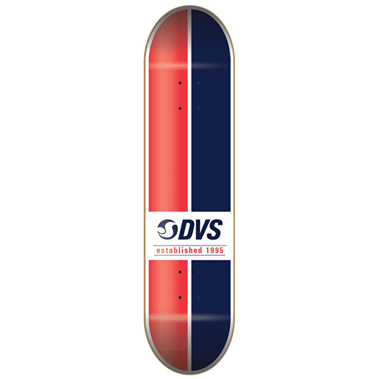 DVS Skateboard Deck - Ace - Red/Blue - 8.25""